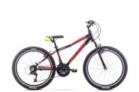ROMET (17) RAMBLER MTB 24 Black Red
